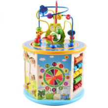 Madera 8 en 1 Activity Cube Bead Maze