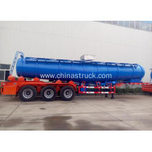 3 axle semi-trailer sulfuric acid tank