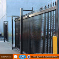 Ornamental Galvanized Steel Metal Fence/High Quality Steel Safety Fence