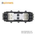 12-144 F Fiber Optic Splice Closure with Stainless Steel Bracket