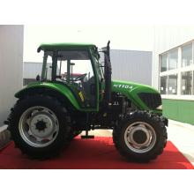 Trator agrícola grande 110HP com 2 Wd e 4WD para venda