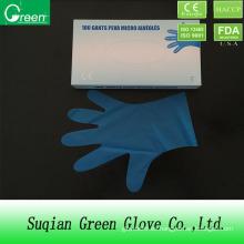 Blue Laboratory Soft TPE Guante
