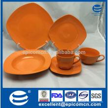 Vaisselle en céramique vitrée chinoise populaire chinoise