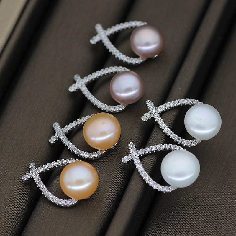Freshwater Cultured Pearl Earring Pair