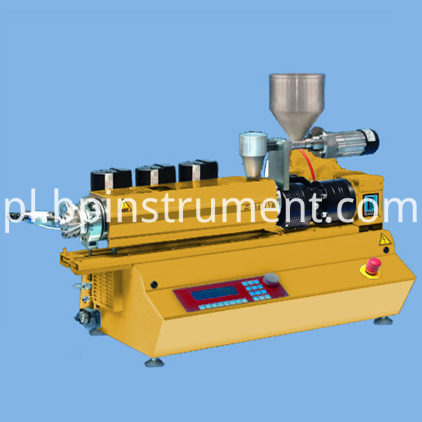Desktop Small Twin Screw Extruder Equipment Control