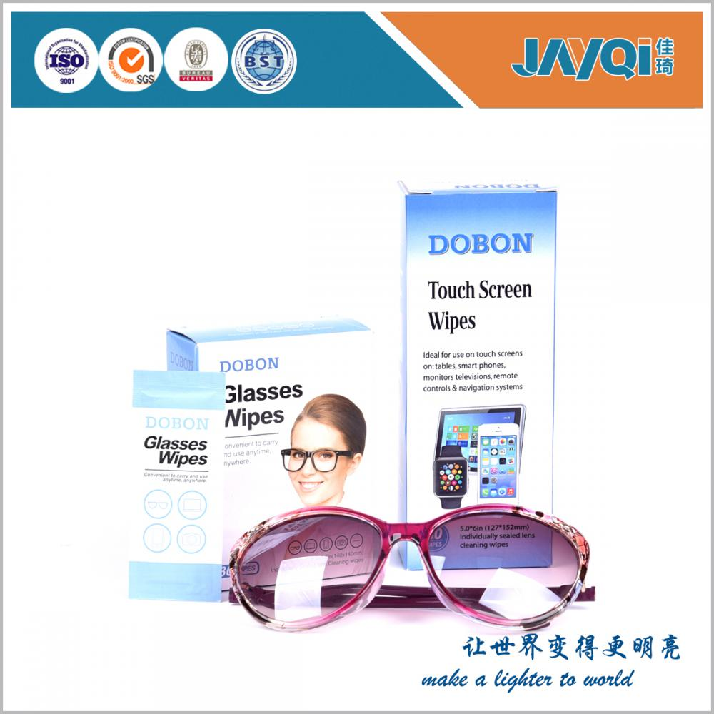 Professional Glasses Dry Wet Cleaning Paper