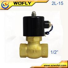 Diferentes solenoides de presión 2W025-08 Válvula solenoide / Mini válvula solenoide neumática