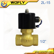 Different pressure solenoids 2W025-08 Solenoid Valve / Pneumatic mini Solenoid Valve