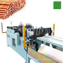 Automatische Kupfer-Kapillarrohr-Schneid- und Endformmaschine