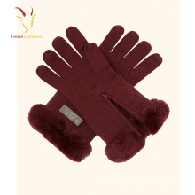 Wholesale Winter Ladies Wholesale Hand Cashmere Gloves Full Finger Gloves