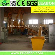 800-1000kg / H Linha de Fabricação de Biomassa de Pellets de Madeira