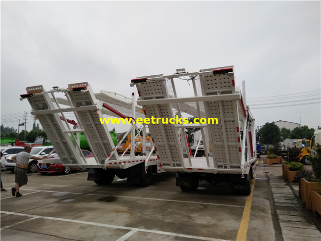 4 Cars Tow Trucks