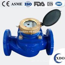 Fábrica precio Multi Jet húmedo tipo agua Meter(flange type), contador de agua Woltman