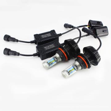 G7 9004 9007 4000lm 6500K PHI-ZES Fanless führte Auto-Scheinwerfer-hohe niedrige Superweißstrahl-Umwandlungs-Installationssatz mit Garantie
