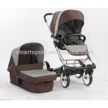 Счастливая Детская коляска 3-в-1 фарфор