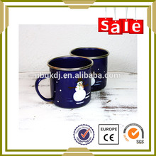 Eco-friendly,2015 new products novelty Color and decal enamel mug