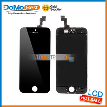 teste 100% original, alta qualidade, monitor lcd, painel frontal lcd para iPhone lcd 5S
