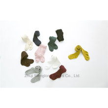 Winter Style Solid Kid Baumwollstrumpfhosen Basic Styles tragen draußen und im Haus