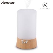 2018 Nebulizer ultra-sônico do purificador do umidificador do difusor 100ml do difusor do óleo essencial da madeira e do vidro