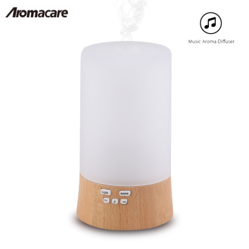 2018 Wood and Glass Essential Oil Diffuser Ultrasonic 100ml Humidifier Purifier Nebulizer