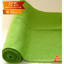 blackand green color Non woven fabric for mattress felt