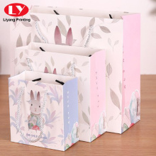 Lovely Christmas Paper Gift Packing Bag with Handle