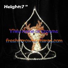 Moose Eik Crown Christmas Crowns