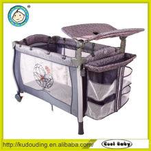 Hot china productos al por mayor hoja de maíz recién nacido cama de bebé