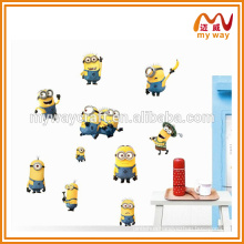 all kinds of cartoon wall stickers, wall decor stickers