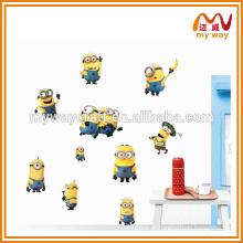 Todos os tipos de adesivos de parede de desenhos animados, adesivos de decoração de parede