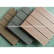 WPC Interlocking outdoor Decking Tiles Hollow