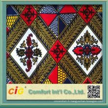 Super Fashion Plain Dyed Wax Fabrics