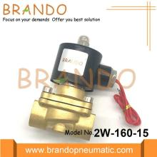 Brass Body Copper Coil Solenoid Valve