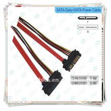 Sata data + cable de alimentación Cable Serial ATA Data + Power Combo Cable Cable