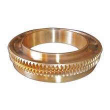 Precision Large Diameter Bronze Worm Gear for Sale