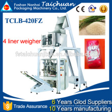 automatic multi head weigher packing machine for rice