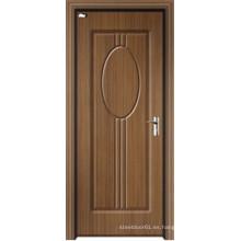 Puerta de entrada interior WPC de precio bajo de venta caliente