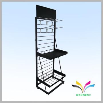 floor type sample design sturdy welded tobacco display rack