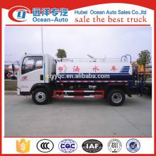 5000 litros HOWO camiones cisterna de agua precio