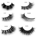 Wholesale mink lashes 3d mink eyelash with custom packaging