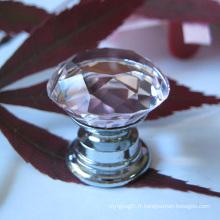 Tiroir à cristaux rose pour enfants 20mm
