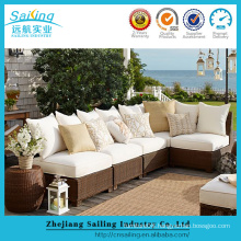 Luxury Durable Easy Cleaning New Garden Sofa Set
