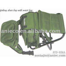 fishing chair backpack with waist bag
