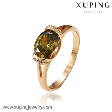 12475- China Xuping Atacado Fake Gold Jewelry Rings18K
