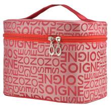 Bolsa de maquillaje de almacenamiento bolsas de regalo de nylon bolsa de cosméticos plegable para mujeres