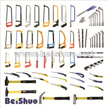 Cheap Price Hand Tools/Drill Set/ Hacksaw Frame/Hammer/Folding Saw