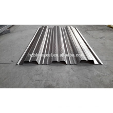 Low Price Metal Galvanized Steel Floor Deck Sheet Board For Sale , Floor Support Steel Plate , Floor Bearing Plate Bearing Panel