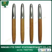 Caneta de bambu, logotipo ECO, caneta de presente de bambu