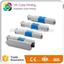 Cartucho de tóner compatible para Oki C310 / C330 / C351 / C361 con polvo de tóner químico