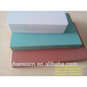 Panneau blanc de mousse de PVC imprimable, panneau de mousse de PVC de publicité, feuille flexible de PVC, panneau de mousse d'impression